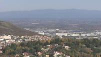 Illustrations Michelin a Clermont et ville Grenoble et enseignes et golf
