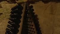 2 régions viticoles francaises inscrites au patrimoine mondial de l'Unesco : ill caves des maisons Pannier et Veuve Clicquot