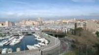Belles images de Marseille par beau temps