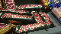 Rappel de barres chocolatées Mars et Snickers illustrations Mars et Snickers