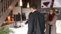 La société 10-vins crée la D-Vine, une machine à espresso pour le vin au verre