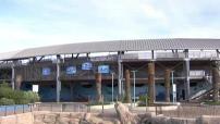 Illustrations remise en état de Marineland après les intempéries qui ont touchées 90% des infrastructures du parc