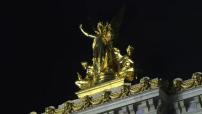 Illustration de l'Opéra Garnier de nuit
