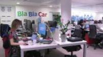Illustrations siège de BlaBlaCar ; Illustrations Frédéric Mazzella ; Illustrations application mobile BlaBlaCar