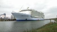 Harmony of the Seas, le plus grand paquebot du monde en construction à Saint Nazaire