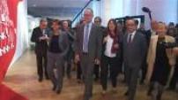 Réouverture et inauguration du Musée de l'Homme par François Hollande