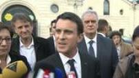 En visite à Cognac, Manuel Valls ne commente pas le discours en corse de Jean Guy Talamoni président de l'Assemblée de Corse