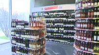 Illustrations rayon alcool et avertissement pour la vente aux mineurs