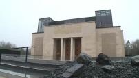 Centenaire de la bataille de Verdun : Illustrations extérieur et intérieur du Mémorial de Verdun après rénovation