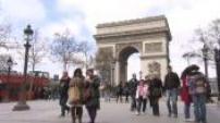 Illustrations Paris : Arc de Triomphe / Tour Eiffel