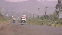 La route des grands fauves : route Bondo-Kisumu, Kisumu