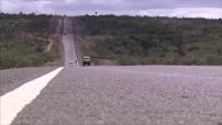 Kenya : route entre Narok et Nairobi