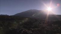 Tanzanie : sommet du Kilimandjaro, route vers Samé, Samé