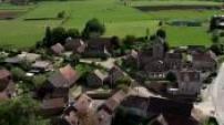 Vues aériennes du Canal de Bourgogne
