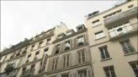 Paris : illustrations immeubles ET cartes postales par beau et mauvais temps