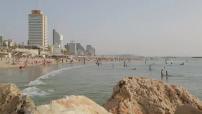 Tel Aviv beach illustrations (10/11)