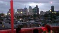 Illustrations vues de Melbourne la nuit