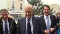 Elections primaires Les Républicains : déplacements d'Alain Juppé à Saint-Maur et Nogent-sur-Marne sur le thème de la sécurité