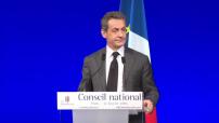 National Council of Republicans: Nicolas Sarkozy's speech