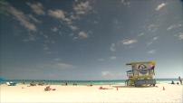 Etats-Unis : Miami Beach, côté plage et côté rues