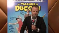 "Interviews junkets acteurs de ""Les vacances de Ducobu"""