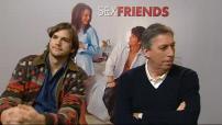 "Interview (Junket) Ashton Kutcher & Ivan Reitman pour ""Sex Friends"" (2/2)"