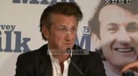 "Conférence de presse de Sean Penn pour ""Harvey Milk"""
