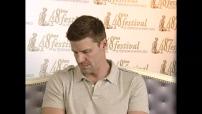 Interview David Boreanaz au Festival de télé de Monté Carlo