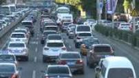 Illustrations circulation routiere Pékin Chine 2015