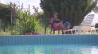 Illustrations piscine et plage en Sicile