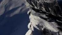 Vues Aériennes Crête des Hippocampes dans les Alpes