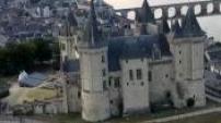 Vues Aériennes Château de Saumur (Pays de Loire)