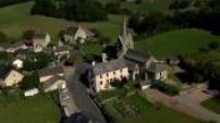 Vues Aériennes petit village de Midi Pyrénées