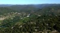 Vues Aériennes paysages du Languedoc Roussillon