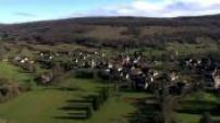 Vues Aériennes Franche Comté Village Inconnu