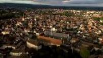 Vues aériennes de Beaune et de ses hospices