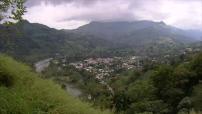 Mexique : village et paysage de montagne