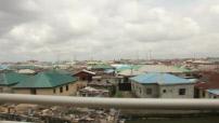 Nigeria: lakeside city slum near Lagos 1