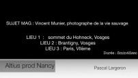 Portrait de Vincent Munier, photographe animalier