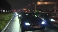 Manifestation de VTC pour réglementer les tarifs vis à vis de la conncurrence d'Uber