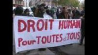 Manifestation de prostitué(e)s contre le projet de loi Sarkozy sur la sécurité intérieure