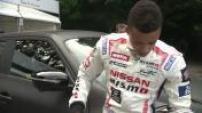 Goodwood Festival of Speed: fig. Jann Mardenborough; fig. Kazunori Yamauchi; fig. JJ Lehto; fig. Valentino Rossi; fig. Gasly; fig. Nico Rosberg