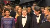 """66ème Festival de Cannes : montée des marches de l'équipe du film """"All is lost"""" (2/2)"""