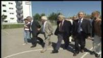 affaire d'Outreau : visite officielle commission parlementaire dans quartier de la tour du Renard.