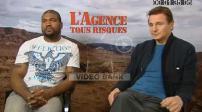 """Interview (Junket) Quinton Jackson & Liam Neeson pour """"l'Agence tous risques"""""""
