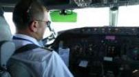 cockpit flight 737 Paris illustration Djerba