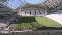 Marseille : stade Vélodrome en rénovation