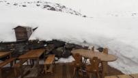 Illustration mountain restaurants in Val Thorens