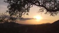 Coucher de soleil depuis le Kilimandjaro