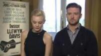 "66ème Festival de Cannes : Interviews Carey Mulligan et Justin Timberlake pour ""Inside Llewyn Davis"""
